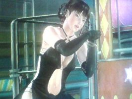 DOA5: Sexy Leifang In Black Dress by TheRumbleRoseNetwork