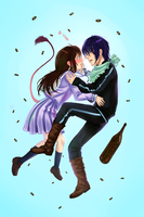 Yato and Hiyori by Anny96