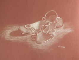 Shoes Light Study by Sarbear12112