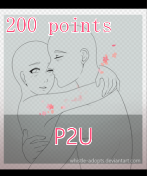 [P2U] Couple Base/Lineart [PAY TO USE] by whistle-adopts