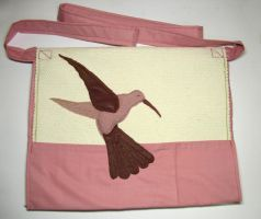 Humming Bird Bag by Amaltheea