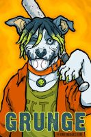 BADGES: Dreaded Grunge by grungepuppy