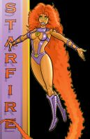 80's Starfire DC Y.B. Series by Thuddleston