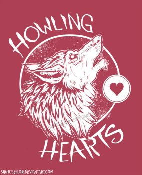 Howling Hearts by sirhcsellor