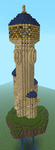 Elderdawn spire minecrafted by lordofpencil