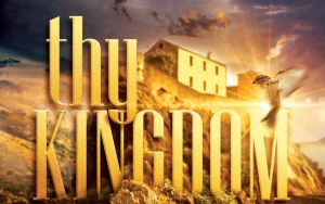 Thy Kingdom Come Church Flyer Template by loswl