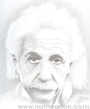Albert Einstein by natenation