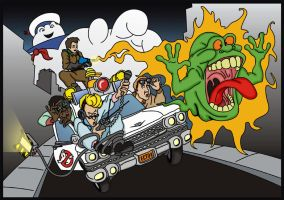 The Real Ghostbusters by jhroberts