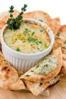 Hot Artichoke Crab Dip with Asiago Cheese by tracylopez