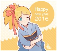 Happy New Year 2016 by Louistrations