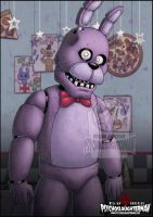Bonnie The Bunny by PsychoSlaughterman