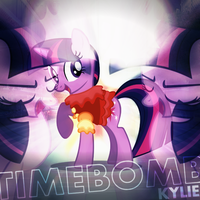Kylie Minogue - Timebomb (Twilight Sparkle) (v2) by AdrianImpalaMata