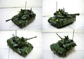 Lego APC to Tank!! (3.1) by SOS101
