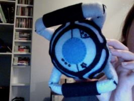 Wheatley -Portal 2- Plushie by Jordi124