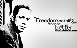 22. Albert Camus by sfegraphics