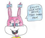 Babs Bunny's new house wish to Tiny-Toons-Fan by dth1971