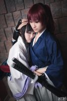 Kenshin and Tomoe @ Con-G 2012 - Preview 2 by alucardleashed