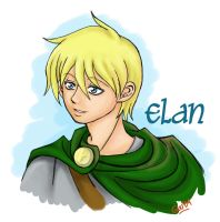 Elan the bard by Guu