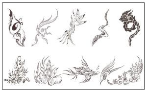 Tribal designs by tux20