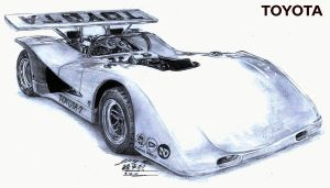 Berto's Toyota-7 Race car 1970 by toyonda