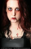 Bloody Zombie III by fetishfaerie-stock