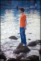 Percy Jackson- On the Shore by twinfools
