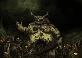 Daemons of Nurgle by KKylimos