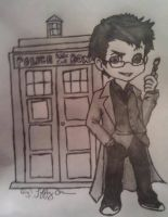 The Tenth Doctor by Crimson-Ripper