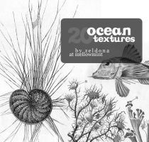 20 ocean textures by mellowmint
