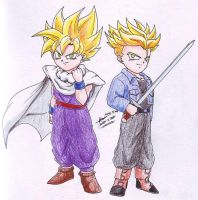 Goten Trunks 2 by hirokada