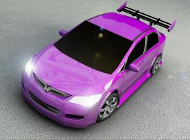Honda Civic by jomet