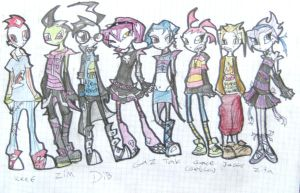 invader zim group by InvaderAnn