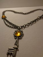 SteamPunk Key Necklace by goldenspider