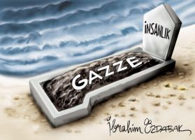 gaza and palestine cartoons 13 by ademmm