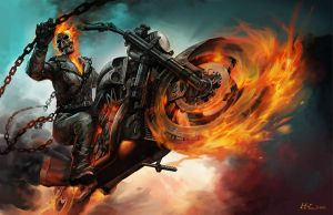 GHOST RIDER by hualu
