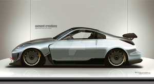 350z Silver express (Not a chop) by Axesent