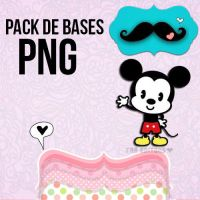 PACK DE BASES PNG by FaaEDITIONS
