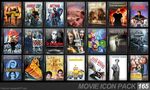 Movie Icon Pack 165 by FirstLine1