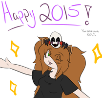 Happy 2015 by kilala1148