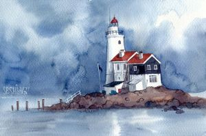 Lighthouse by AnnWeaver