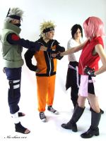 Team 7 shippuden 3 by Suki-Cosplay