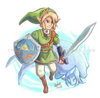 Skyward Sword Sketch by BettyKwong