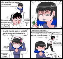 Madre Gamer by yamilMIYO