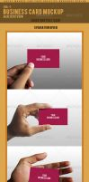 Photo Real Business Card Mockup - 1 by MGT-mygraphicteam
