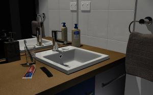 My bathroom sink by taraxanoid