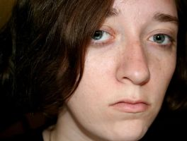 Just me with dark hair by rsipperley