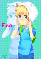Finn The Hooman by LeafCup