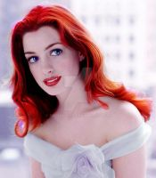 Anne Hathaway as Ariel by FEuJenny07