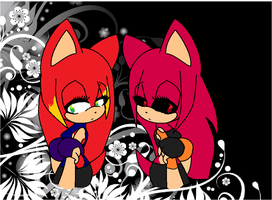 I can see you.... (Thorne and Kaga) by xxTornWorldxx