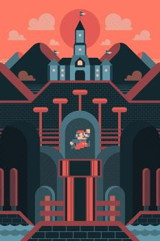 Super Mario - Adventure Awaits by FabledCreative